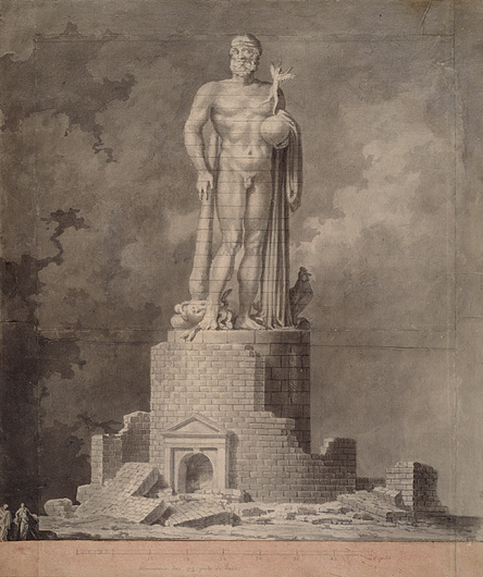 Eurimond-Alexandre Petitot (1727–1801). Hercules of Gaul<br />
